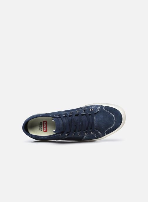 Sneaker Globe Suplus blau ansicht von links