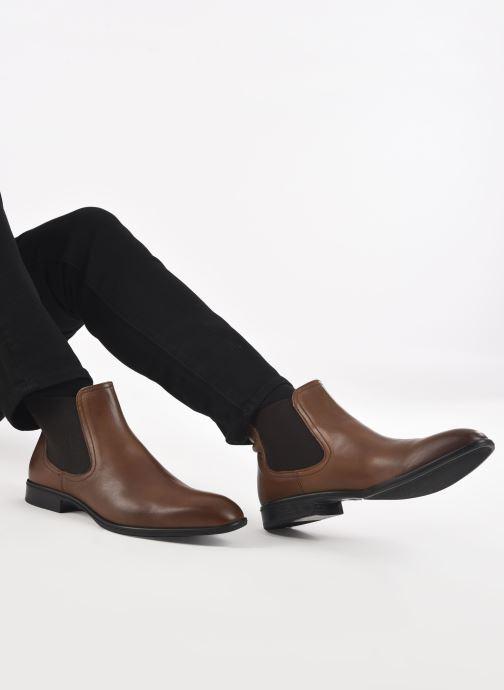 Bottines et boots Marvin&Co Rothman Marron vue bas / vue portée sac
