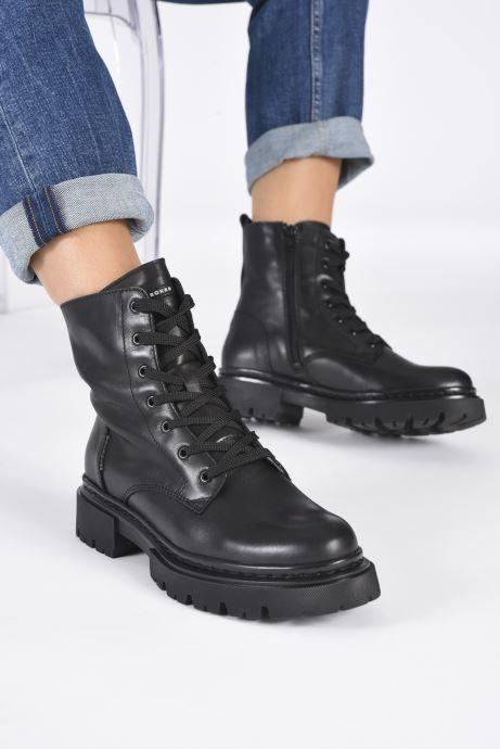 Bottines et boots Bullboxer 610504E6L Noir vue bas / vue portée sac