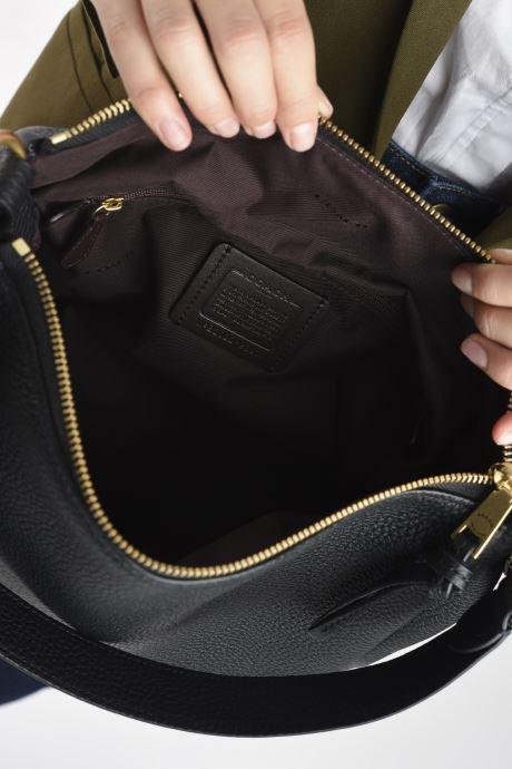 Sacs à main Coach Shay Shoulder Bag Noir vue derrière