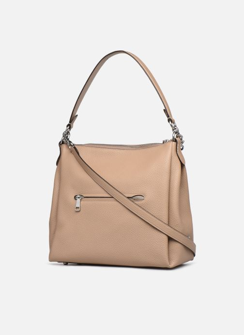 Sacs à main Coach Shay Shoulder Bag Beige vue droite