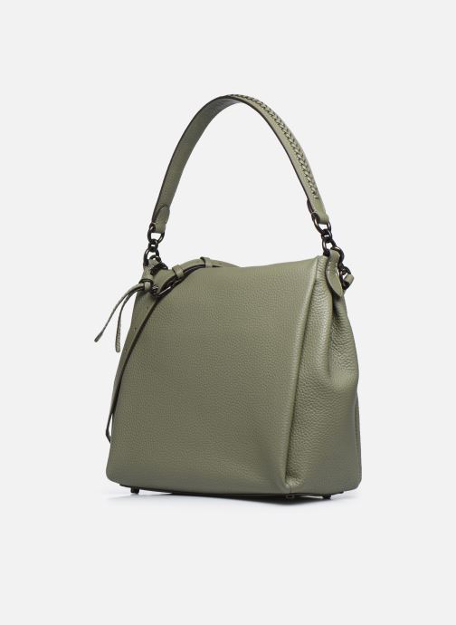 Handtaschen Coach Shay Shoulder Bag grün schuhe getragen