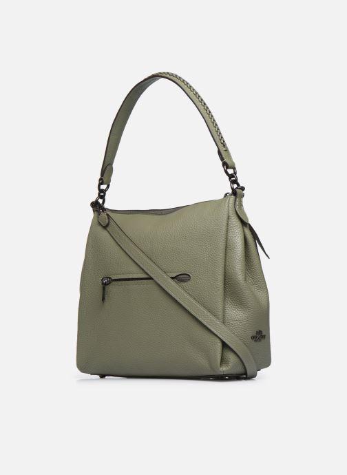 Handtaschen Coach Shay Shoulder Bag grün ansicht von rechts