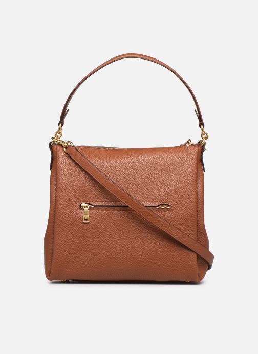 Sacs à main Coach Shay Shoulder Bag Marron vue face