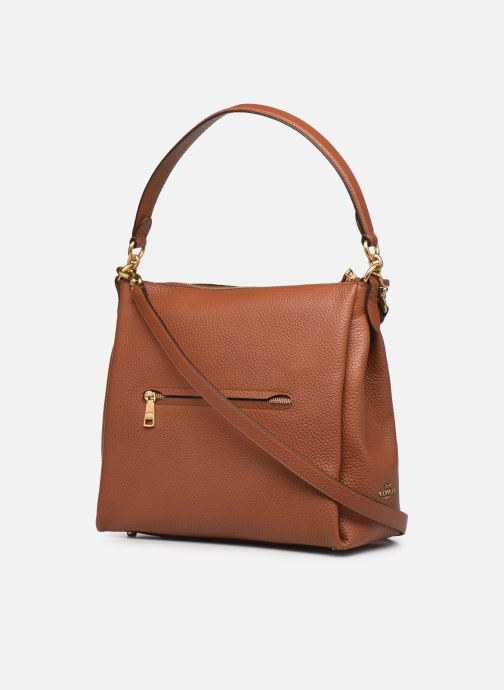 Sacs à main Coach Shay Shoulder Bag Marron vue droite
