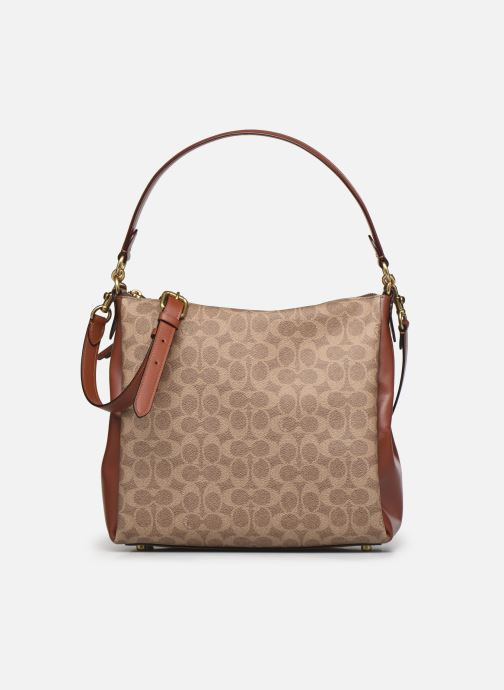 Handtaschen Coach Shay Shoulder Bag braun detaillierte ansicht/modell