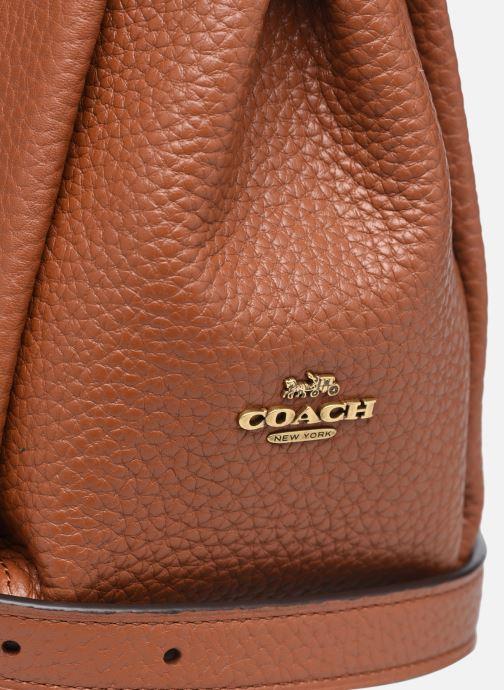Handtaschen Coach Shay Crossbody braun ansicht von links