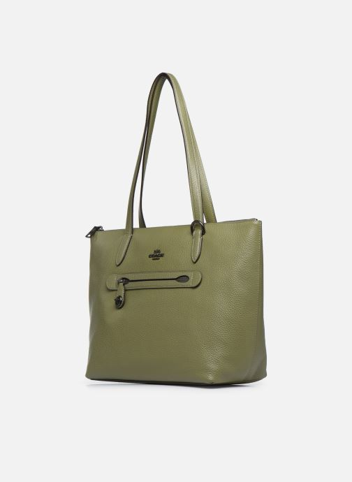 Handtaschen Coach Taylor Tote grün schuhe getragen