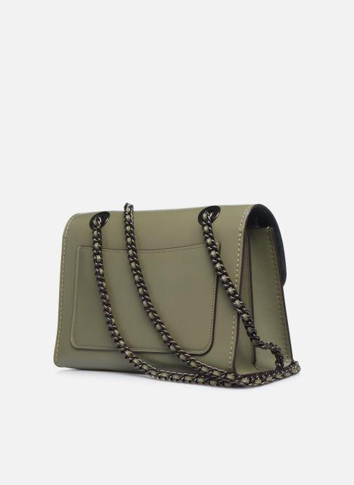 Bolsos de mano Coach Parker Shoulder Bag Verde vista lateral derecha