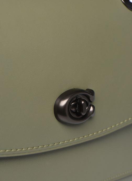 Bolsos de mano Coach Parker Shoulder Bag Verde vista lateral izquierda