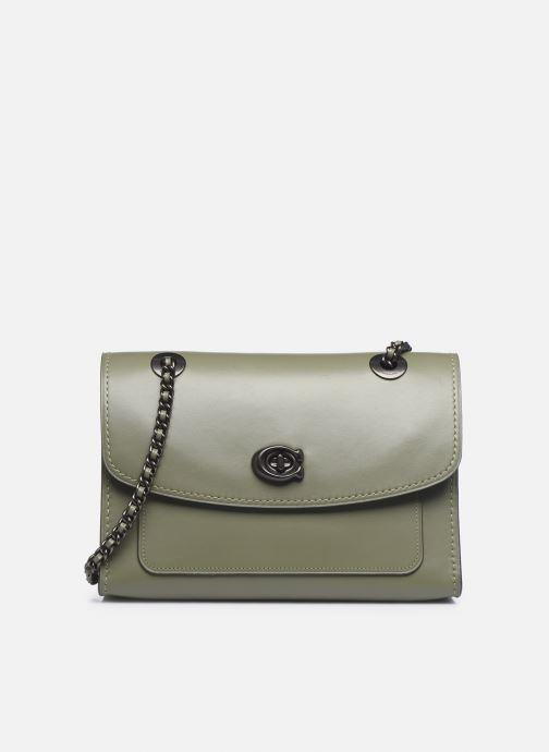 Bolsos de mano Coach Parker Shoulder Bag Verde vista de detalle / par