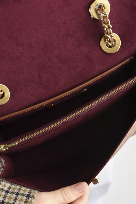 Handtaschen Coach Parker Shoulder Bag beige ansicht von hinten