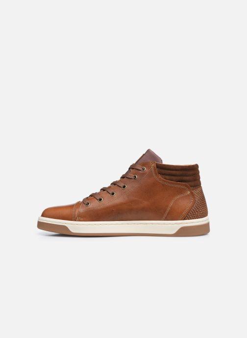 Sneaker Bullboxer Q00004341-70 braun ansicht von vorne