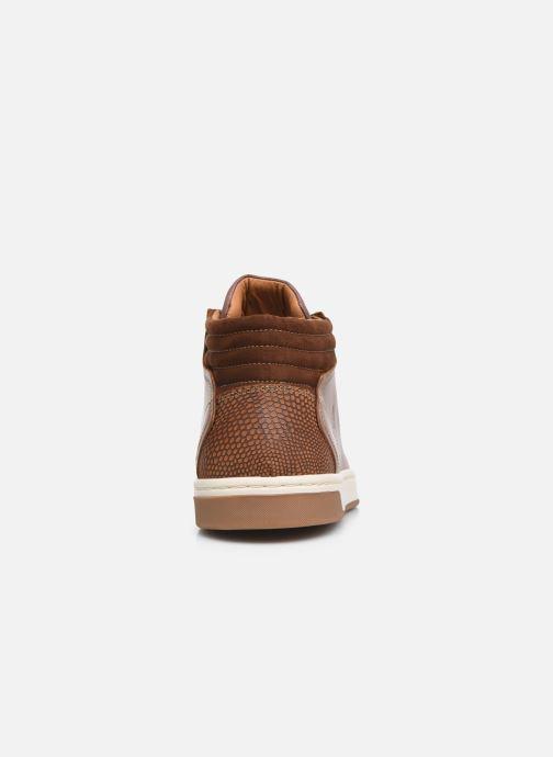 Sneaker Bullboxer Q00004341-70 braun ansicht von rechts