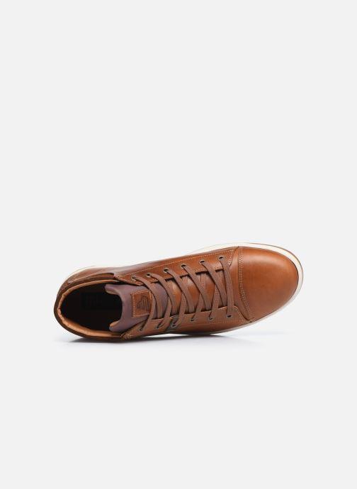 Sneaker Bullboxer Q00004341-70 braun ansicht von links