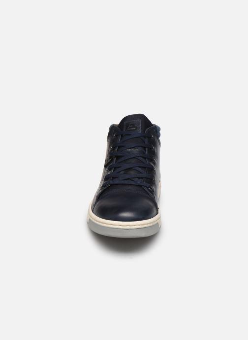 Sneaker Bullboxer Q00004341-80 blau schuhe getragen