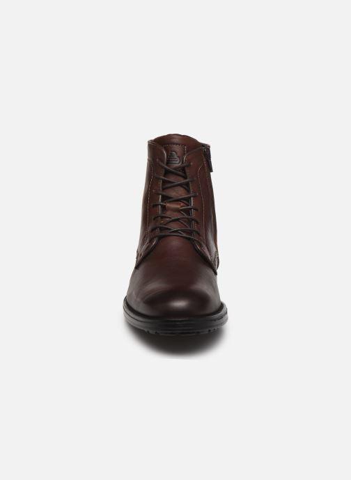 Bottines et boots Bullboxer Q00004341-110 Marron vue portées chaussures