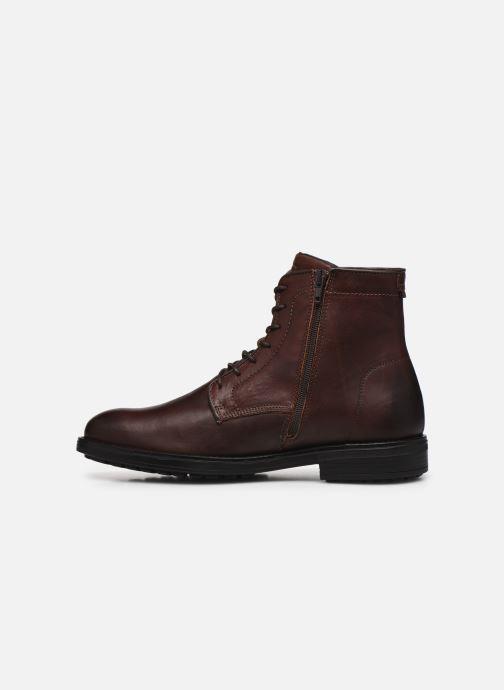 Stiefeletten & Boots Bullboxer Q00004341-110 braun ansicht von vorne