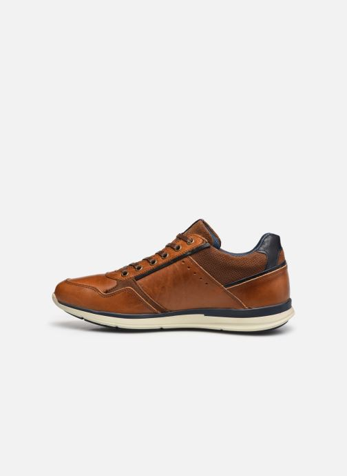 Sneakers Bullboxer Q00004341-280 Brun se forfra