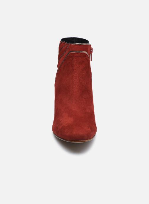 Stiefeletten & Boots Georgia Rose Lyzzie rot schuhe getragen