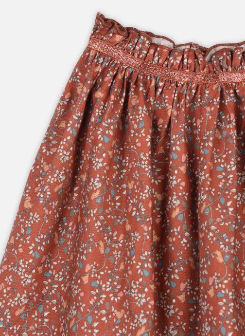 Vêtements Arsène et les Pipelettes Jupe Thelia Marron vue face