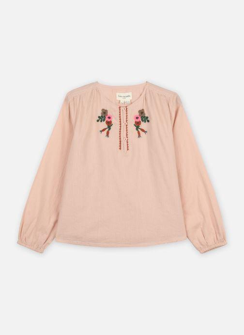 Vêtements Arsène et les Pipelettes Blouse Tycia Rose vue détail/paire