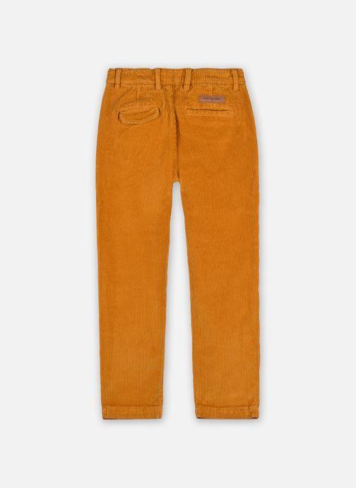 Vêtements Arsène et les Pipelettes Pantalon Tugay Marron vue portées chaussures