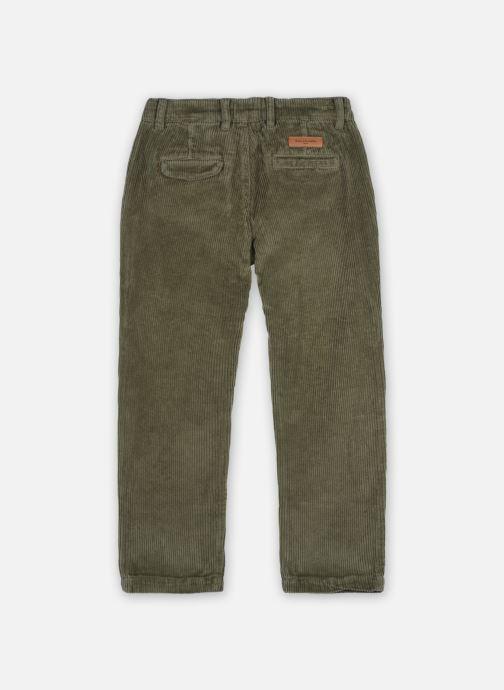 Vêtements Arsène et les Pipelettes Pantalon Tugay Vert vue portées chaussures