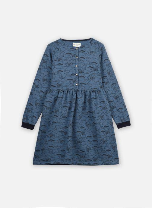 Vêtements Arsène et les Pipelettes Robe Tiavina Bleu vue détail/paire