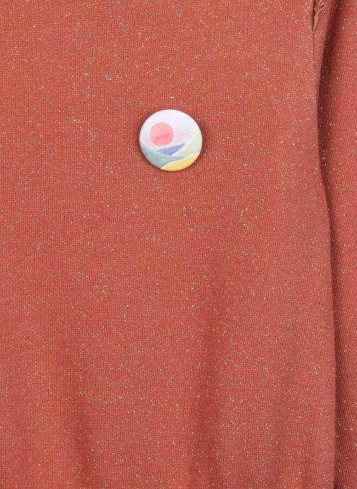 Vêtements Arsène et les Pipelettes Robe Tanya Rouge vue face