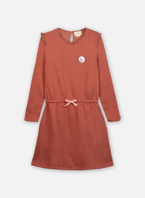 Vêtements Arsène et les Pipelettes Robe Tanya Rouge vue détail/paire