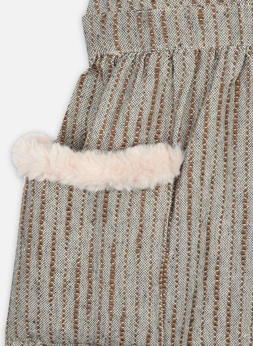 Vêtements Arsène et les Pipelettes Robe Timea Marron vue face