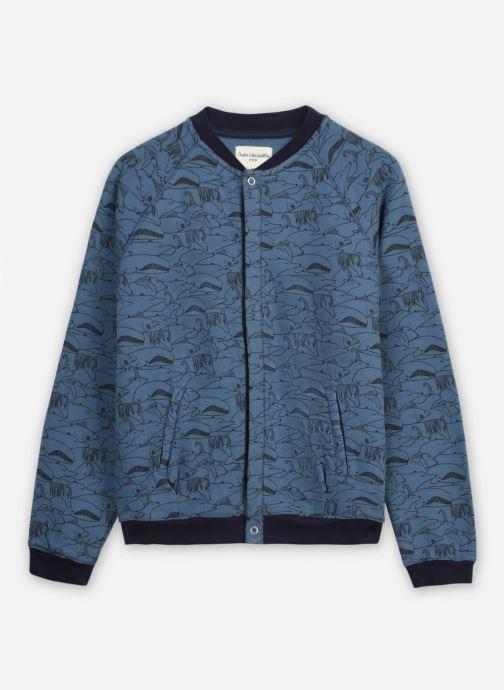 Vêtements Arsène et les Pipelettes Cardigan Tydiane Bleu vue détail/paire