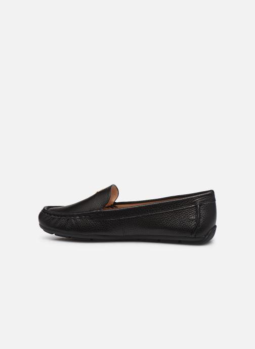 Mocassins Coach Marley Driver- Leather Zwart voorkant