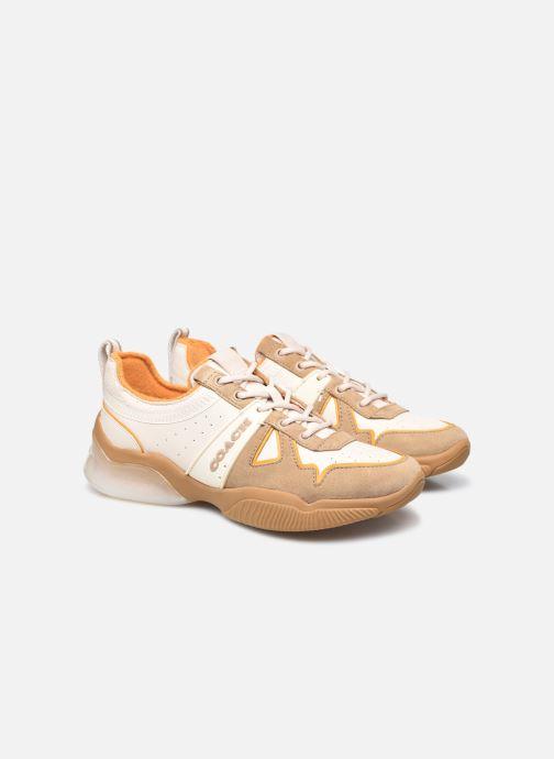 Sneaker Coach Citysole Leather-Terrycloth Runner beige 3 von 4 ansichten
