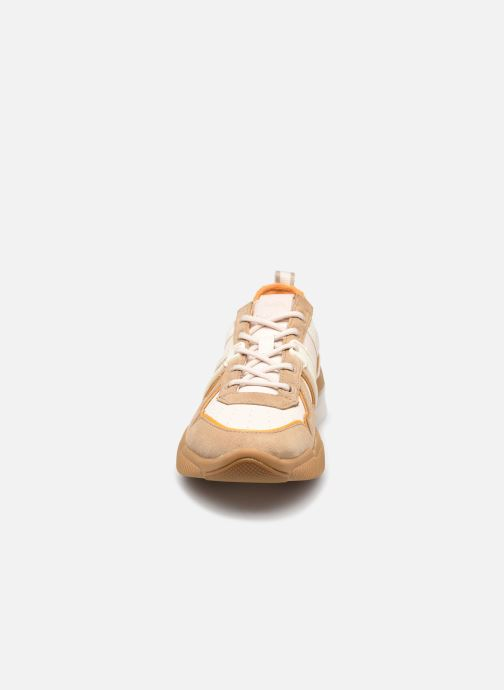 Baskets Coach Citysole Leather-Terrycloth Runner Beige vue portées chaussures