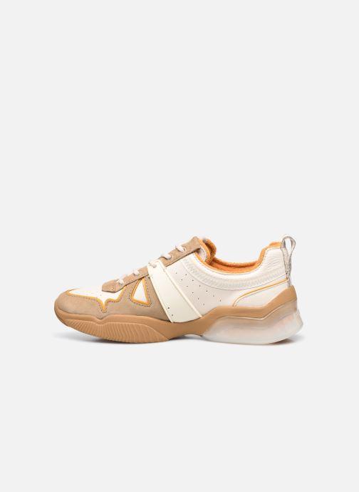 Sneaker Coach Citysole Leather-Terrycloth Runner beige ansicht von vorne