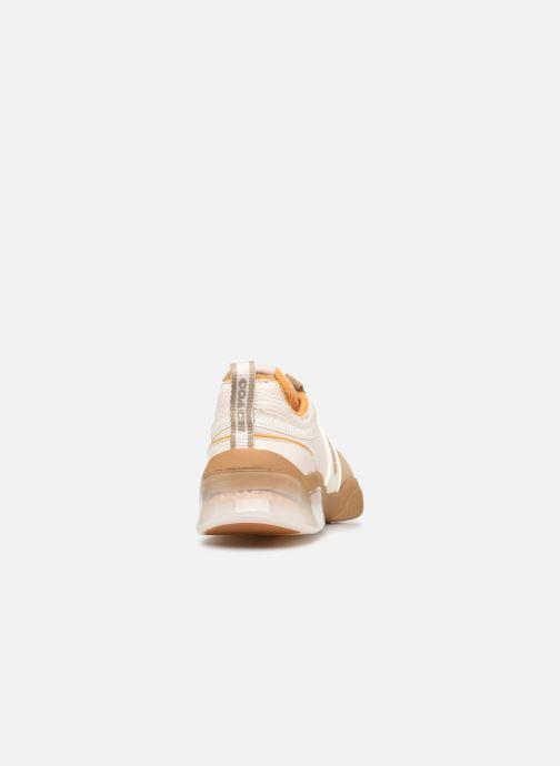 Sneaker Coach Citysole Leather-Terrycloth Runner beige ansicht von rechts
