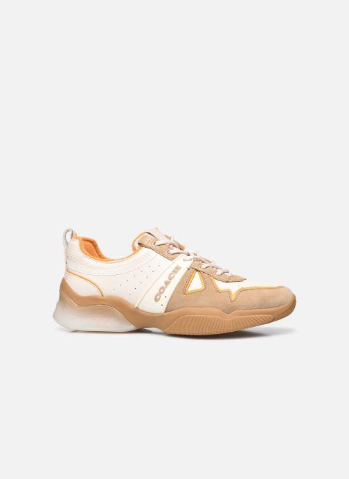 Sneaker Coach Citysole Leather-Terrycloth Runner beige ansicht von hinten