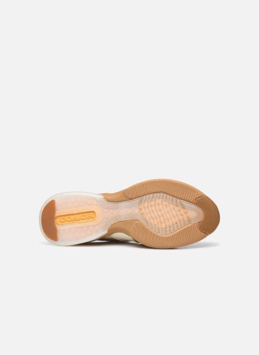 Sneaker Coach Citysole Leather-Terrycloth Runner beige ansicht von oben