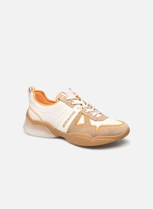 Sneaker Coach Citysole Leather-Terrycloth Runner beige detaillierte ansicht/modell