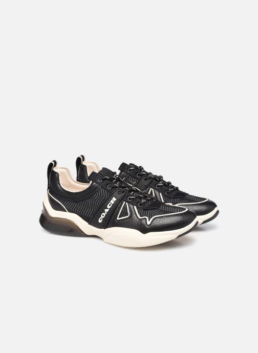 Baskets Coach Citysole Mesh Runner Noir vue 3/4