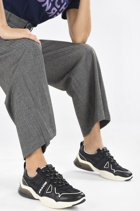 Baskets Coach Citysole Mesh Runner Noir vue bas / vue portée sac