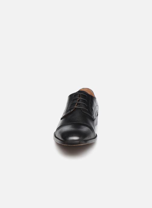 Schnürschuhe Marvin&Co Rufio schwarz schuhe getragen