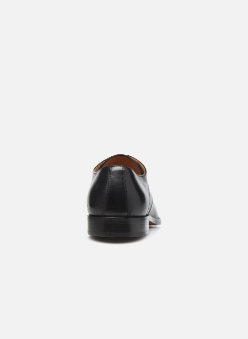 Schnürschuhe Marvin&Co Rufio schwarz ansicht von rechts