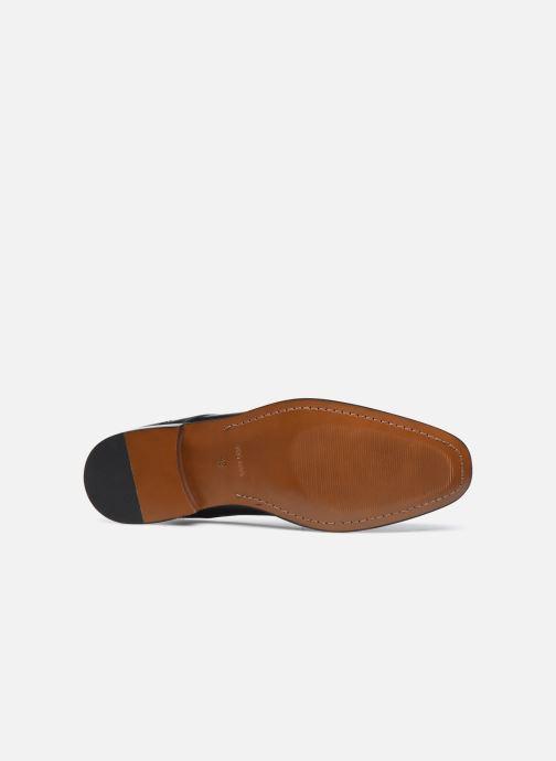 Schnürschuhe Marvin&Co Rufio schwarz ansicht von oben