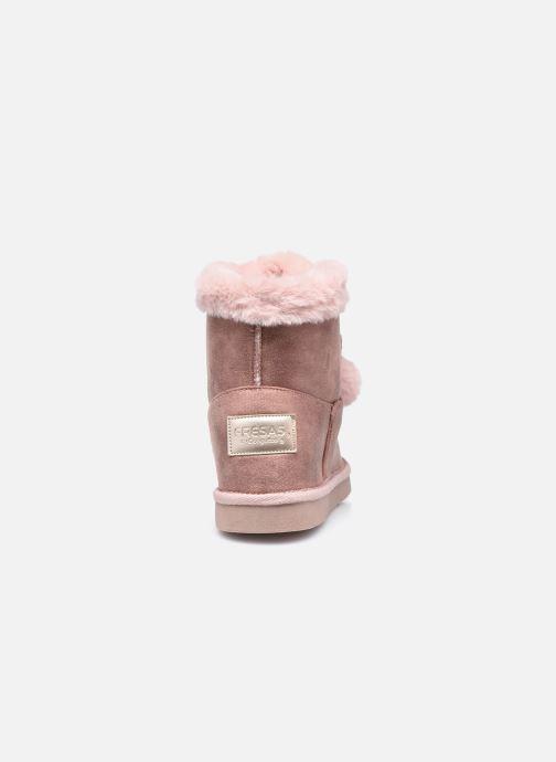 Stiefeletten & Boots Conguitos KI5 542 22 rosa ansicht von rechts