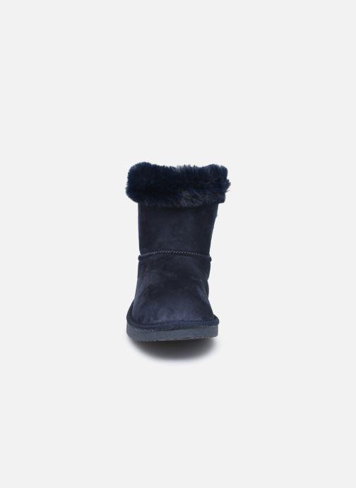 Bottes Conguitos KI5 542 21 Bleu vue portées chaussures
