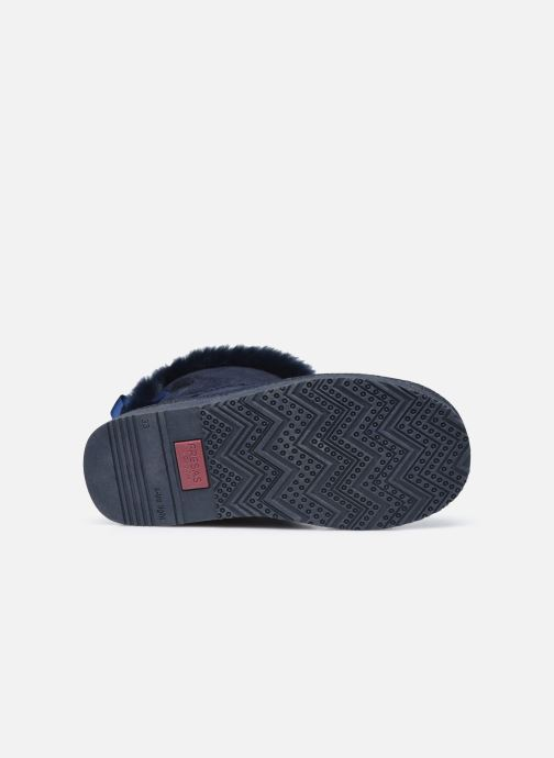 Botas Conguitos KI5 542 21 Azul vista de arriba