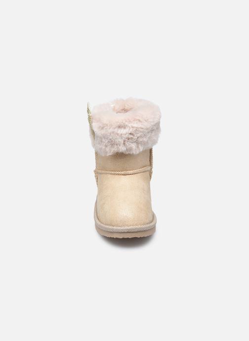 Stiefel Conguitos KIS 140 68 beige schuhe getragen
